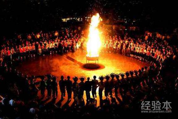 彝族的火把节_彝族火把节的来历-教育经验本