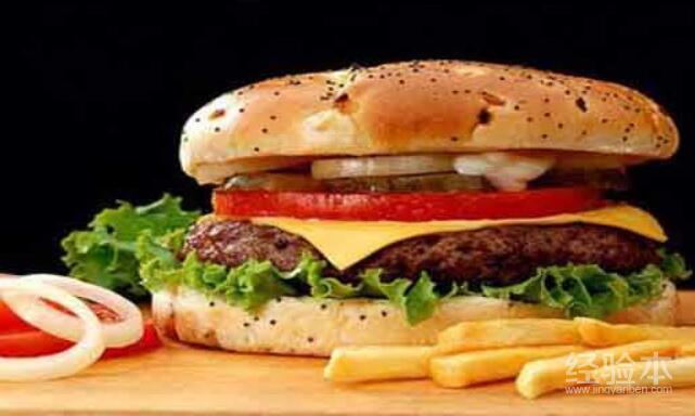 高脂肪快餐