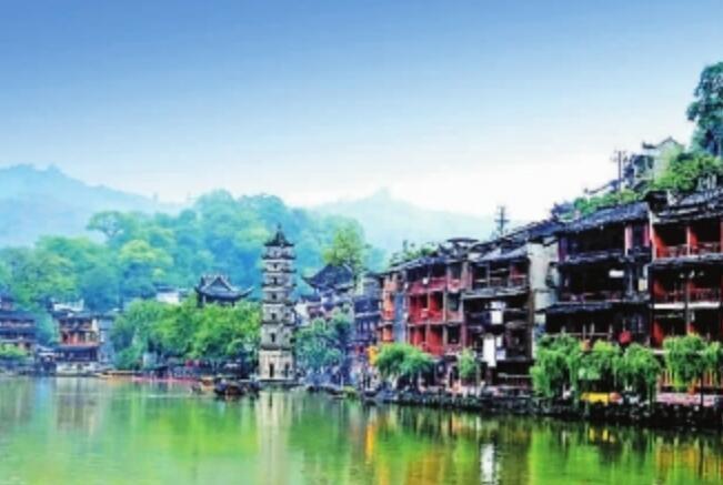 赣州到湖南凤凰古城图片