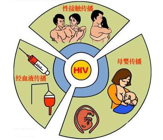 艾滋病传播途径有哪些 哪些行为不会感染艾滋病